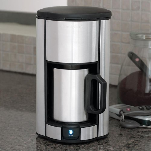 Brookstones Single Cup Coffee Maker