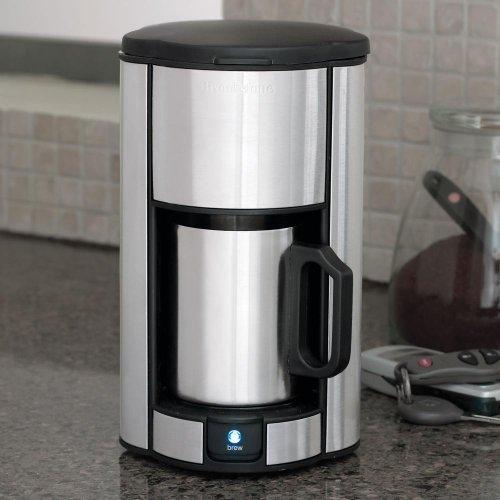 Brookstones Single Cup Coffee Maker