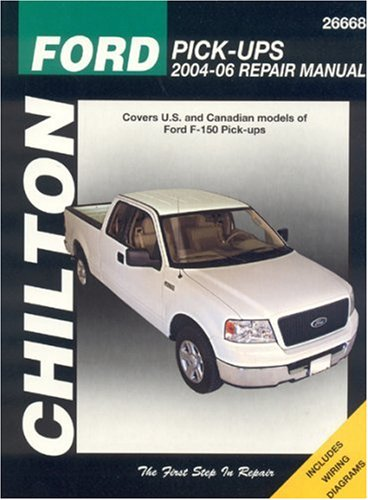 Ford F-150 Pick-Ups 2004-06 (Chilton Total Car Care Series Manuals) (2005 F150 Owners Manual compare prices)