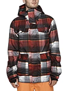 O'Neill PM Freedom Alfabravo Jacket Veste de snowboard homme Red Aop XL