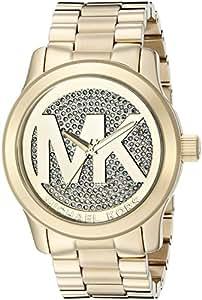 Michael Kors Women's Runway Gold-Tone Watch MK5706