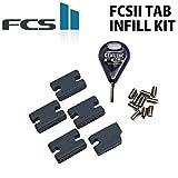 サーフィン FCS2 TAB INFILL KIT タブインフィルキット フィン ねじ ネジ スクリュー回し