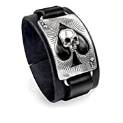 Ace Of Dead Spades Wristband by Alchemy UL13