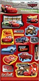 Disney Cars - Fun Foiled Stickers (Reuseable)