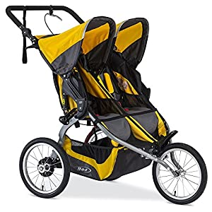 BOB 2016 Ironman Duallie Stroller - Yellow