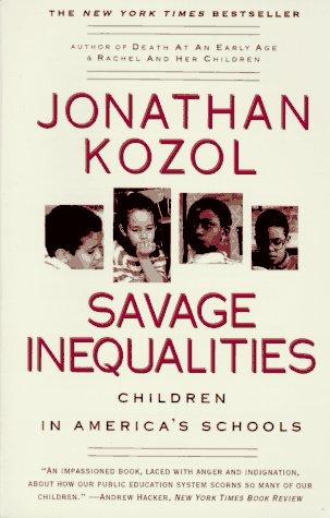 Image for Savage Inequalities: Children in America's Schools