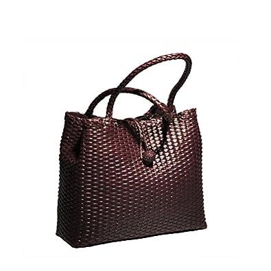 Cwmalls Leather Shoulder Tote Bag CW255168