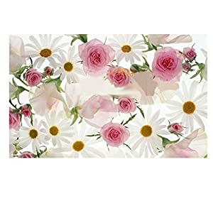 Great Value Kitchen Tools & Gadgets Daisy & Rose Pattern Oil Proof Removable Wall Stickers Wallpaper by Mzamzi