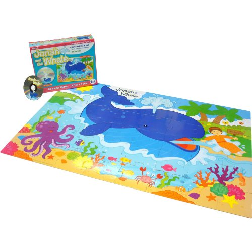 Twin Sisters Jonah & the Whale Puzzle Set