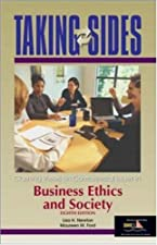 Taking Sides Clashing Views in Business Ethics and Society by Newton