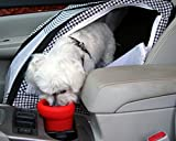 H2O On The Go Spill-Proof Dog Bowl for Car's Cupholders (Red)