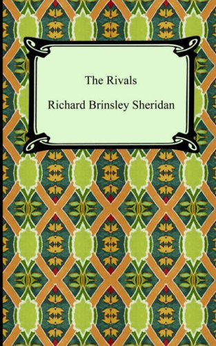 the rivals character study Some of the prominent themes of the rivals have to do with artifice, love, courtship and foolishness in particular, sheridan touches on the themes that artifice is ineffective, that true love and courtship often conflict, and that all characters act foolish in spite of their intelligence in.