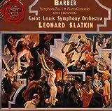 Barber;Symphony No. 1