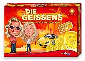 Noris Spiele 606920096 - Die Geissens, Eine schrecklich glamouröse Familie, Familienspiel
