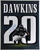 Brian Dawkins Philadelphia Eagles Signed 16x20 Jersey Photo SI at Amazon.com