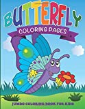 By Speedy Publishing LLC Butterfly Coloring Pages: Jumbo Coloring Book For Kids [Paperback]