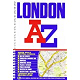 London Street Atlas (spiral) (A-Z Street Atlas)by Geographers A-Z Map...