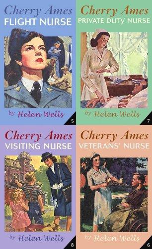 Cherry Ames Boxed Set (Books 5-8): Flight Nurse; Veteran's Nurse; Private Duty Nurse; Visiting Nurse