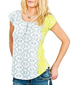 Natalie Lattice Back Tee