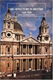 img - for Architecture in Britain: 1530-1830 (The Yale University Press Pelican History of Art) book / textbook / text book