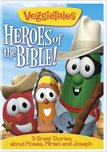 Veggie Tales: Heroes of the Bible 3 Great Stories about Moses, Miriam and Joseph (Movies Big Hero 6 compare prices)