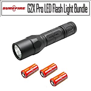 Surefire Flashlight G2X Pro Dual-Output LED Flashlight Weatherproof