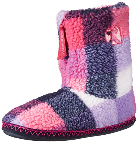 Bedroom Athletics MacGraw, Pantofole fodera calda uomo, multicolore (Multicolore (Navy/Pink)), L