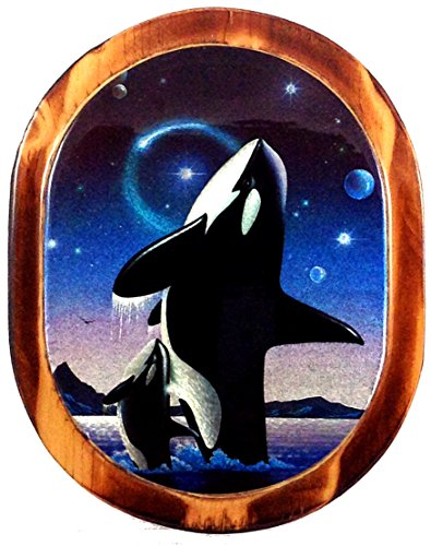 Wooden Whale Wall Art front-1055969