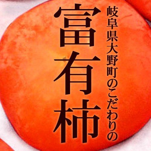 岐阜県大野町のこだわりの富有柿3L×10玉(非流通品 秀品質 化粧箱)