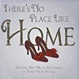 """ There's No Place Like Home "" Handmade Greeting Card - GO46"