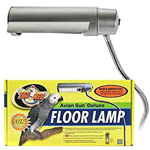 Amazon Com Zoo Med Aviansun Deluxe Floor Pet Lamp Pet