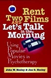 img - for Rent Two Films and Let's Talk in the Morning: Using Popular Movies in Psychotherapy, 2nd Edition by Hesley, John W., Hesley, Jan G. (2001) Paperback book / textbook / text book