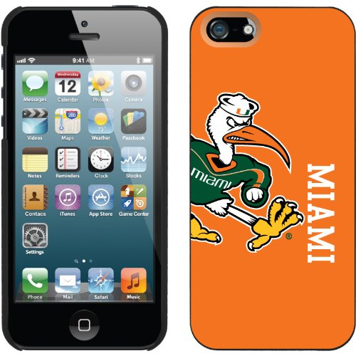 Best Price Miami Mascot Full design on a Black iPhone 5s / 5 Thinshield Snap-On Case by Coveroo