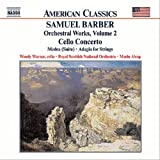 バーバー:管弦楽作品集 第2集 弦楽のためのアダージョ 他