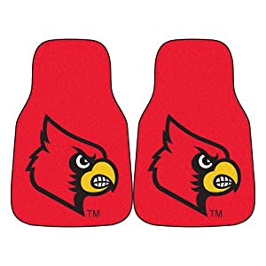 Buy FANMATS NCAA University of Louisville Cardinals Nylon Face Carpet Car Mat by Fanmats