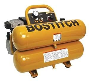 BOSTITCH CWC200ST 3HP 4-Gallon Oiled Twin Hot Dog Compressor