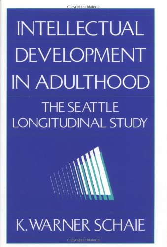Intellectual Development In Adulthood: The Seattle Longitudinal Study front-75184