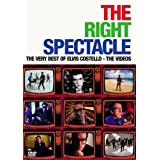 The Right Spectacle: The Very Best of Elvis Costello - The Videos by WEA DES Moines Video
