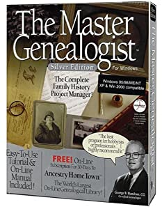 Master Genealogist Silver Edition