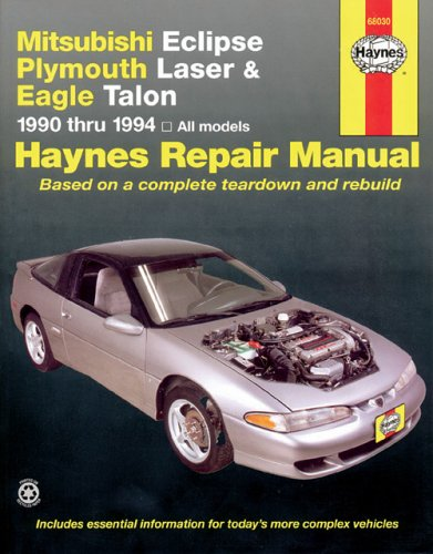 Mitsubishi Eclipse And Eagle, 1990-1994 (Haynes Manuals) front-362425