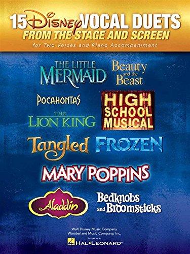 15 Disney Vocal Duets From Stage And Screen. Für Gesang(Duett), Klavierbegleitung
