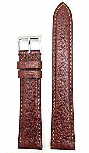 Newlife Honey Brown Vegetable Leather, Lightly Padded, 16Mm