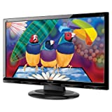 ViewSonic VA2702W 27-Inch Full HD 1080p Widescreen LCD Monitor with DVI and VGA Inputs - Black