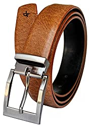 Discover Fashion Men's Leather Brown Belt (BL-BY-12)