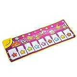音楽カーペット TangQI 音楽キーボード ベビーミュージックファームカーペット ベビーマット 知育玩具 ミュージカル音楽教育