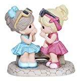 "Precious Moments, Appreciation Gifts, ""That's What Friends Are For"", Bisque Porcelain Figurine, #134016"
