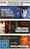 DVD Cover 'Tödliches Vertrauen / Wehrlos Die Tochter Des Generals / Zivilprozess [3 DVDs]