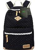 Mygreen Lightweight Leisure Dot 14 Inch Laptop Backpacks Cute Girls Canvas...