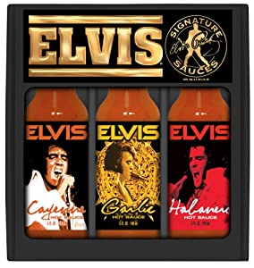 Hsh Elvis Hot Sauce Gift Box by Hot Sauce Harry's