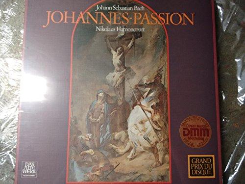 BACH, Johann Sebastian: Johannes-Passion, Bwv.245 / Passione secondo Giovanni (rec. 1966) -- Nikolaus Harnoncourt (cond), Concentus Musicus Wien, Equiluz, van Egmond ----Vinyl LP-TELEFUNKEN-TELEF 6.35018-BACH Johann Sebastian-Concentus Musicus Wien; EGMOND Max van (basso - baritono); EQUILUZ Kurt (tenore); HARNONCOURT Nikolaus (dir - violoncello)